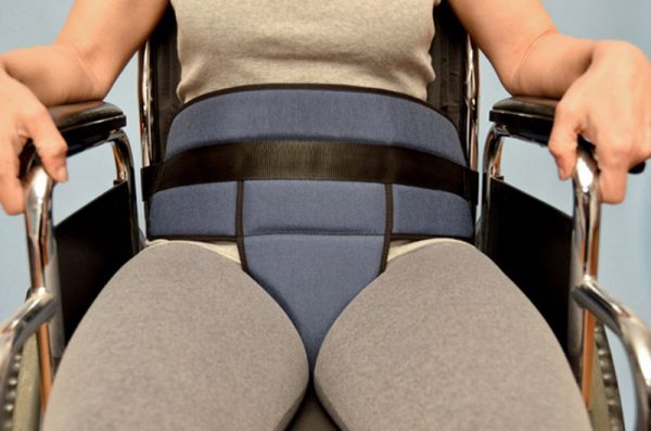 2101 - Seat with Pelvic Restraining Belt